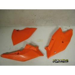 PLAQUES LATERALES KTM EXC 17/19