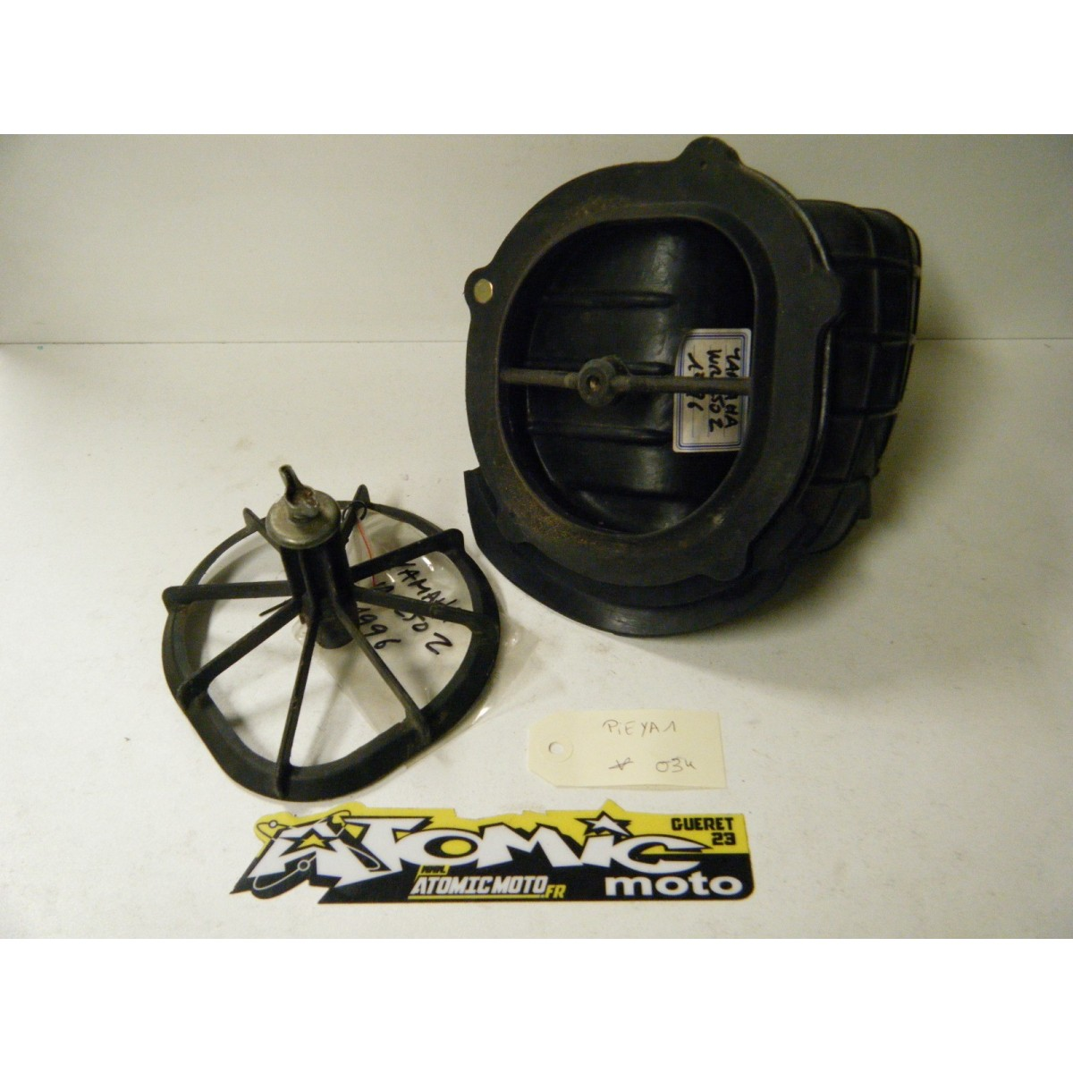 Manchon de boitier de filtre à air et cage YAMAHA 250 WR 1996