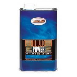 Huile de filtre à air TWIN AIR Liquid Power - Bidon 1L
