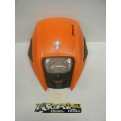 Plaque phare polisport orange