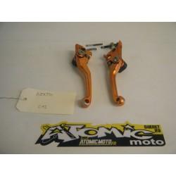 Paire de levier repliable adaptable  KTM 250 EXCF 2011