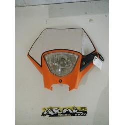Plaque phare complete KTM 05/07