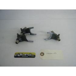 Axe et fourchette de boîte HONDA 250 CRF-X 2004