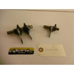 Axe et fourchette de boîte HONDA 250 CRF-X 2005