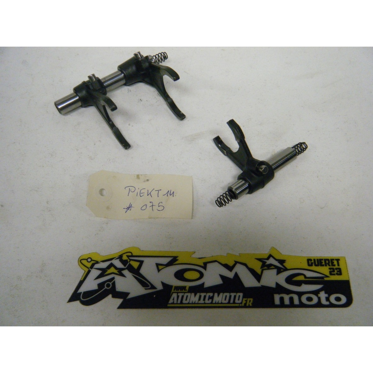 Axe et fourchette de boîte KTM 250 EXC-F 2007