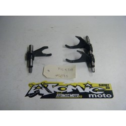 Axe et fourchette de boîte KTM 250 SX-F 2014