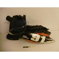 Boitier de filtre à air complet KTM 250 SX-F 2011