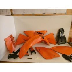 Kit plastiques KTM 125 EXC 2002